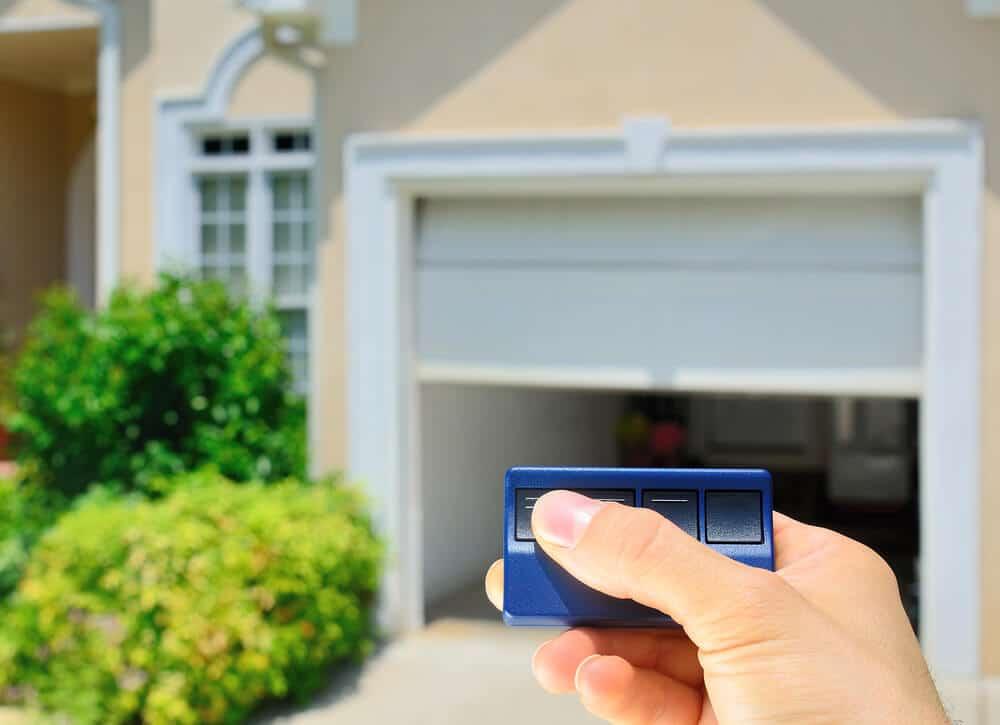 i lost my garage door opener what can i do